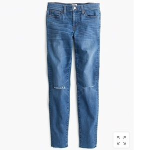 J. Crew Toothpick jean in Skipper wash